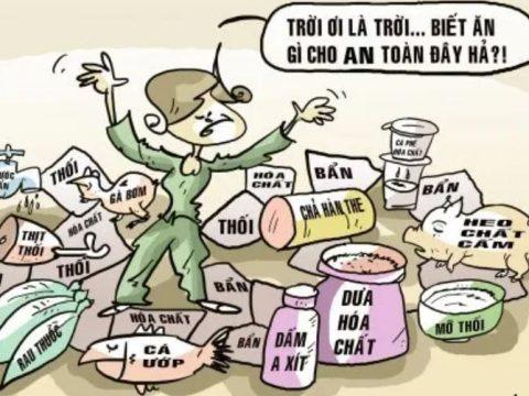 Các tác hại của thực phẩm bẩn ảnh hưởng đến người tiêu dùng