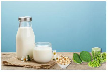 Công thức sữa hạt sen cho bé yêu