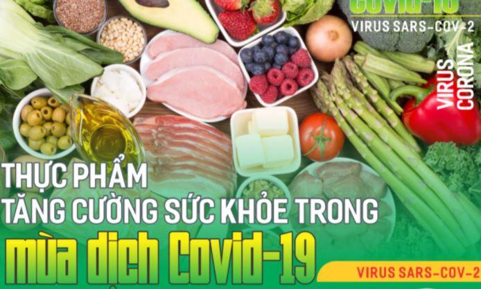 Những loại rau củ quả giúp tăng cường sức đề kháng mùa dịch Covid 19